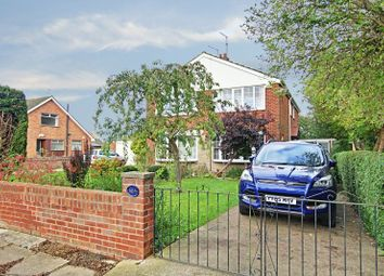 Thumbnail 3 bed semi-detached house for sale in Hooks Lane, Thorngumbald, Hull