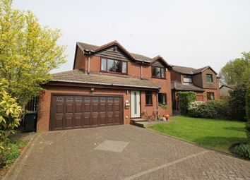 Thumbnail 4 bed detached house for sale in Station Road, Hoghton, Preston
