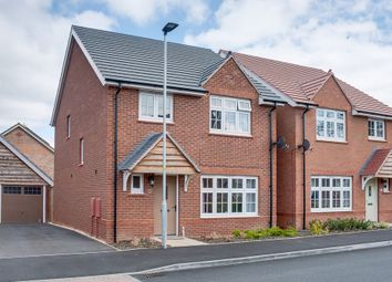 Thumbnail 4 bed detached house for sale in Turntable Avenue, Aston Fields, Bromsgrove