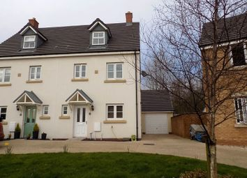Thumbnail 4 bed semi-detached house for sale in 56 Ffordd Y Grug, Coity, Bridgend.