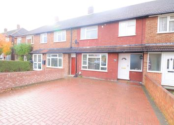 Thumbnail 3 bed terraced house to rent in Byron Road, Luton