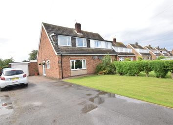 Thumbnail 3 bed semi-detached house for sale in Wiltshire Avenue, Burton-Upon-Stather, Scunthorpe