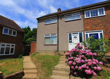 Thumbnail 3 bed end terrace house for sale in Dunstable Close, Romford, London