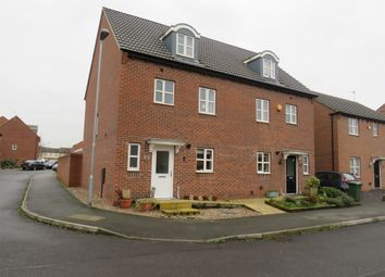 Thumbnail 4 bed semi-detached house for sale in Rockstone Way, Mansfield Woodhouse, Mansfield