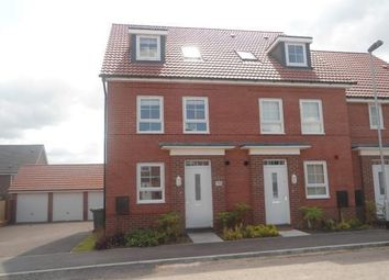 Thumbnail 4 bed town house to rent in Sanderling Way, Forest Town, Mansfield