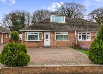 Thumbnail 2 bed semi-detached bungalow for sale in Thornham Close, Sprowston, Norwich