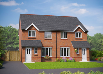 Thumbnail 3 bedroom detached house for sale in The Clwyd, Parc Hendre, St George Road, Abergele, Conwy