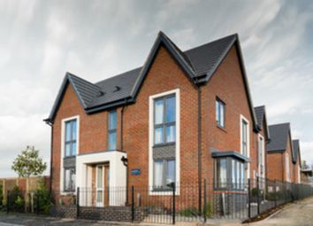 Thumbnail 1 bed flat for sale in Gill Crescent, Houlton, Rugby