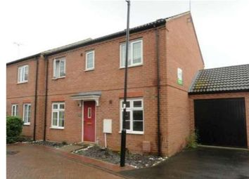 Thumbnail 4 bed end terrace house to rent in Oswald Road, Peterborough