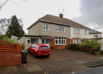 Thumbnail 3 bedroom semi-detached house for sale in Brandreth Road, Cardiff