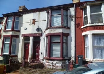 Thumbnail 3 bedroom terraced house for sale in Benedict Street, Bootle