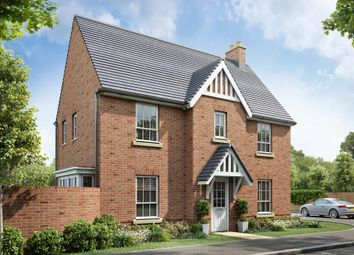 "Thumbnail 3 bedroom detached house for sale in ""Morpeth"" at Beggars Lane, Leicester Forest East, Leicester"
