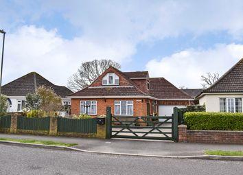 Thumbnail 4 bed bungalow for sale in Elm Avenue, Pennington, Lymington