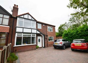 Thumbnail 5 bedroom semi-detached house to rent in Saddlewood Avenue, Didsbury, Manchester, Greater Manchester