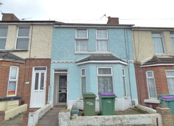 Thumbnail 2 bed terraced house for sale in Albert Road, Folkestone