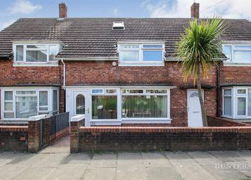 Thumbnail 3 bed terraced house for sale in Clovelly Road, Hylton Castle, Sunderland