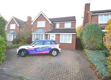 Thumbnail 4 bed detached house to rent in Gresley Close, Welwyn Garden City