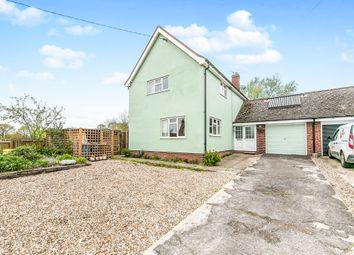 Thumbnail 4 bedroom link-detached house for sale in Lower Street, Stanstead, Sudbury