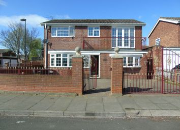 Thumbnail 4 bed detached house for sale in Catton Place, Wallsend