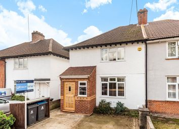 Thumbnail 2 bed semi-detached house for sale in Porchester Road, Norbiton, Kingston Upon Thames