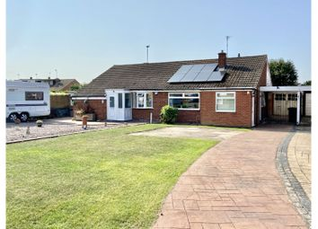 Thumbnail 2 bed semi-detached bungalow for sale in Worcester Avenue, Birstall