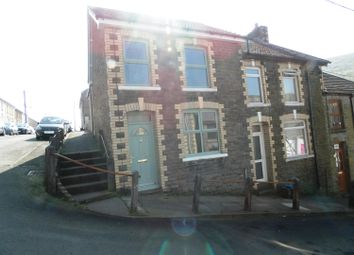 Thumbnail 3 bed end terrace house for sale in Fern Street, Ogmore Vale, Bridgend