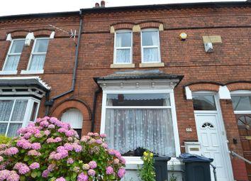 Thumbnail 2 bedroom terraced house for sale in Harbury Road, Balsall Heath, Birmingham