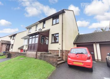 Thumbnail 2 bed semi-detached house for sale in Holwill Drive, Torrington