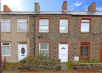 Thumbnail 2 bedroom terraced house for sale in Caernarfon Road, Bangor