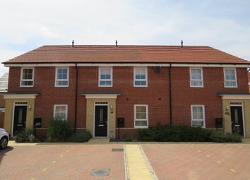 Thumbnail 2 bed terraced house for sale in Bartlett Drive, Hempsted, Peterborough