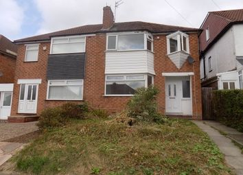Thumbnail 3 bedroom semi-detached house to rent in Max Road, Quinton, Birmingham