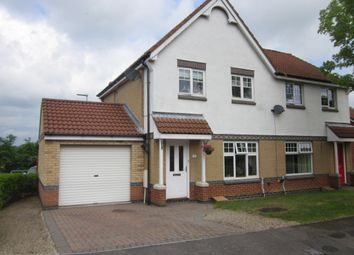 Thumbnail 3 bed semi-detached house for sale in Rushmoor, Spennymoor
