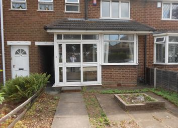 Thumbnail 3 bed terraced house to rent in Dyas Road, Great Barr Birmingham