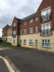 Thumbnail 2 bed flat to rent in Dunster Close, Rugby, Warwickshire