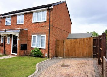 Thumbnail 3 bed semi-detached house for sale in Whitwell Close, Luton