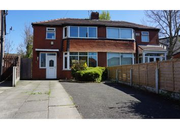 Thumbnail 3 bed semi-detached house for sale in Ashby Grove, Manchester