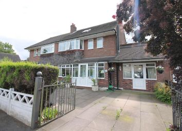 Thumbnail 4 bed semi-detached house for sale in Eddisbury Avenue, Urmston, Manchester
