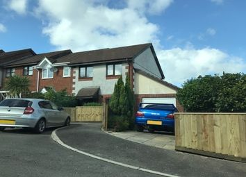 Thumbnail 2 bed semi-detached house to rent in Tom Lyon Road, Liskeard
