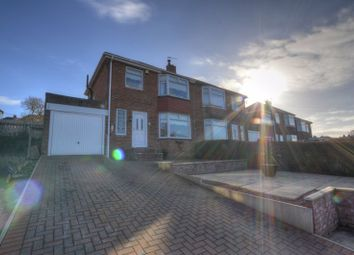 Thumbnail 3 bed semi-detached house for sale in Wooperton Gardens, Newcastle Upon Tyne