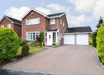 Thumbnail 4 bed detached house for sale in Carisbrooke Way, Stoke-On-Trent