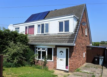 Thumbnail 3 bed semi-detached house for sale in Valley Road, Grantham