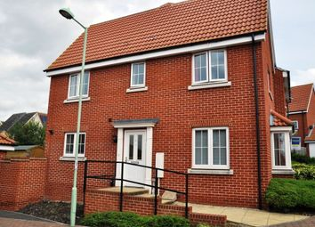 Thumbnail 3 bed semi-detached house to rent in Song Thrush Close, Stowmarket