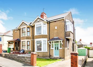 Thumbnail 3 bedroom semi-detached house for sale in Uplands Road, Rumney, Cardiff