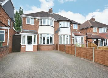 Thumbnail 3 bed semi-detached house for sale in Watwood Road, Shirley, Solihull