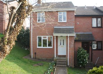 Thumbnail 3 bed end terrace house to rent in Linnet Close, Exeter