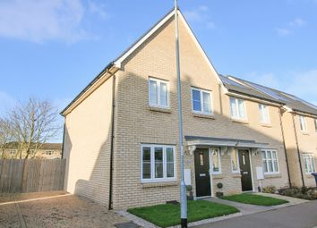 Thumbnail 2 bedroom semi-detached house for sale in Racecourse View, Cottenham, Cambridge