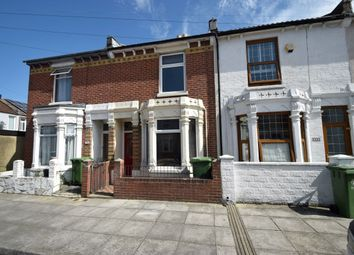 Thumbnail 2 bed terraced house for sale in Catisfield Road, Southsea