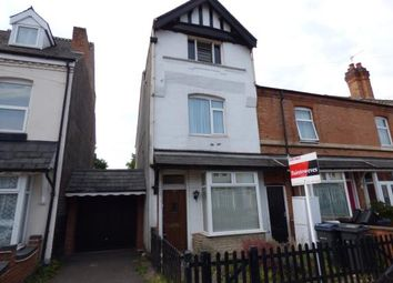 Thumbnail 3 bed end terrace house for sale in Francis Road, Acocks Green, Birmingham, West Midlands