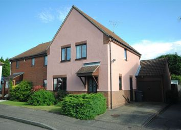 Thumbnail 3 bed semi-detached house for sale in Lupin Mews, Springfield, Chelmsford, Essex