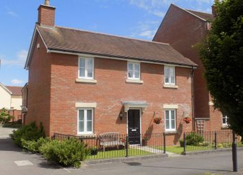 Thumbnail 3 bed detached house for sale in Redhouse Gardens, Swindon